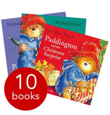 Paddington Bear 10 Books Collection Set in Carrier Bag by Michael Bond