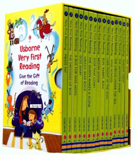 Usborne Very First Reading 16 Books Set