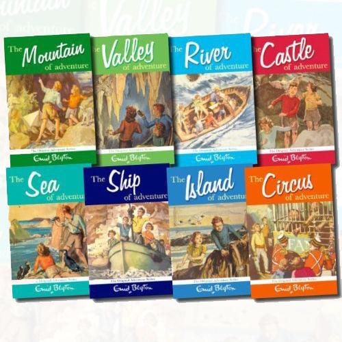 Enid Blyton Adventure series 8 Books Set Collection - Childrens Classic Books