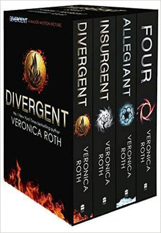 Divergent Series Box Set  by : Veronica Roth