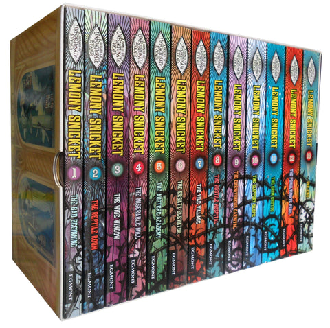 A Series of Unfortunate Events Books - Lemony Snicket Collection - 13 Books Set