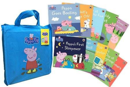 Peppa Pig 10 Books Set in a Gift Bag