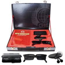 Spy Master Briefcase Black AND Spy kit