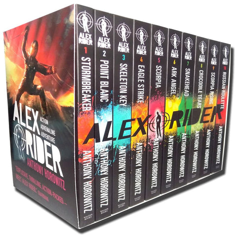 Alex Rider Collection 10 Books Set Pack Anthony Horowitz
