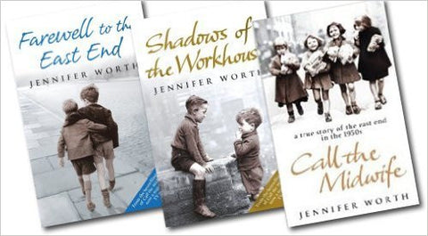 Call the Midwife Series: Collection 3 Books Set Call the Midwife, Shadows of the Workhouse, Farewell to the East End (Paperback)