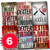 Dexter Series Jeff Lindsay Novel Collection 6 Books Set