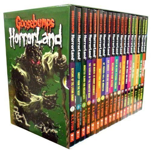 Goosebumps Horrorland Collection - 18 Books Box Set  by : R L Stine