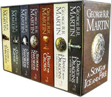 A Game of Thrones Box Set Song of Ice and Fire 7 Books Collection