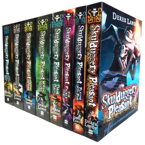 Skulduggery Pleasant Derek Landy - 8 Books Set Collection  by : Derek Landy