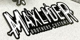 9 Inch Maxlider Brothers Customs Sticker