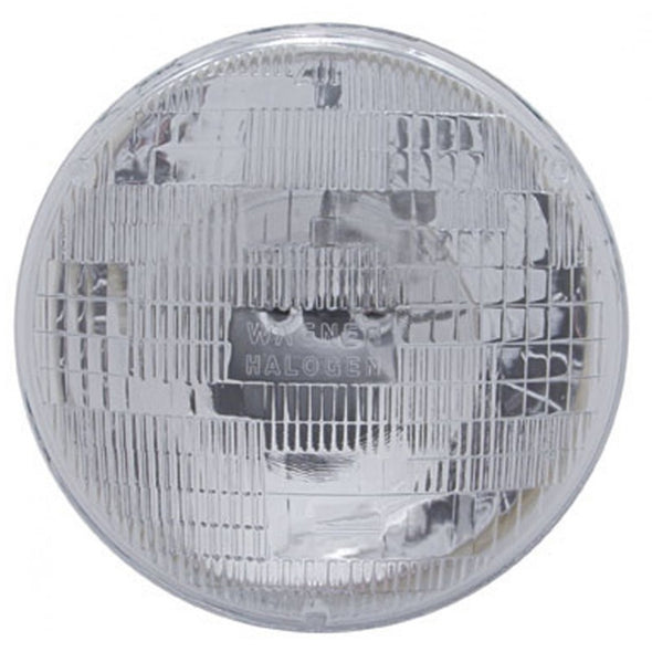 "7"" Round Halogen Sealed Beam Headlight 12V"
