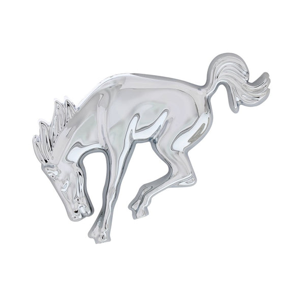 Chrome Bucking Bronco Emblem