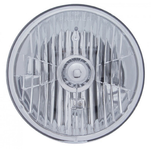 "7"" Round Crystal Headlight 12V"