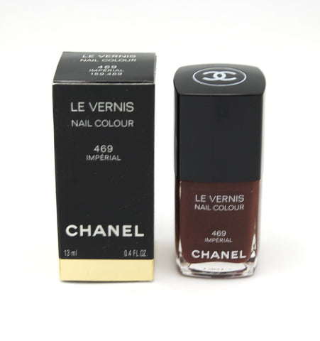 Chanel Le Vernis Nail Colour - 469 Imperial - Limited Edition - eckoYak