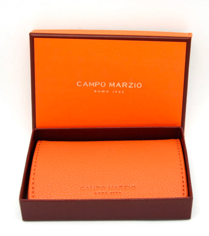 Campo Marzio Business Card Holder - Mandarin - eckoYak