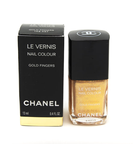Chanel Le Vernis Nail Colour - Gold Fingers (Discontinued / Hard to Find) - eckoYak