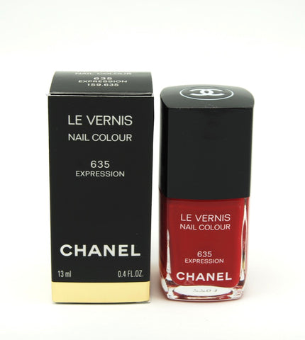 Chanel Le Vernis Nail Colour - 635 Expression - Limited Edition - eckoYak