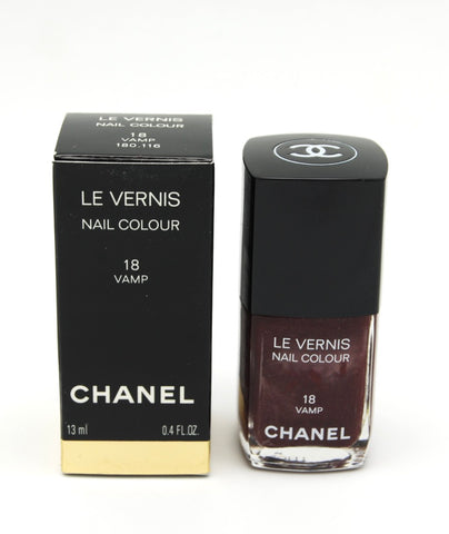 Chanel Le Vernis Nail Colour - Vamp 18 - Limited Edition - eckoYak
