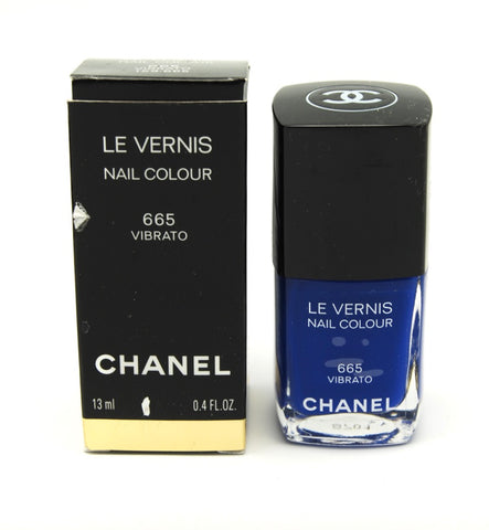 Chanel Le Vernis Nail Colour - 665 Vibrato - Limited Edition (Hard to Find) - eckoYak