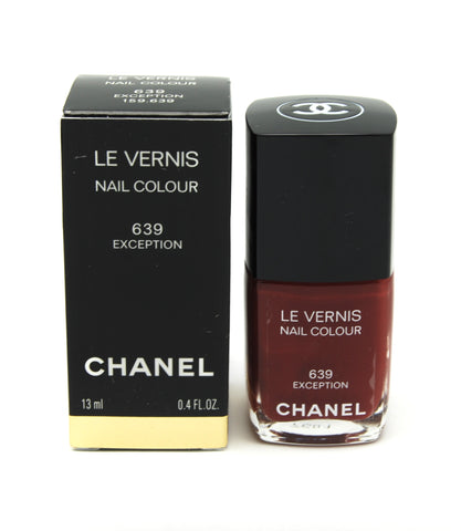 Chanel Le Vernis Nail Colour - 639 Exception - Limited Edition - eckoYak