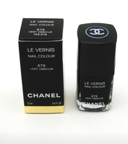 Chanel Le Vernis Nail Colour - 679 Vert Obscur (Limited Edition) - eckoYak