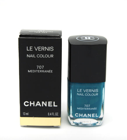 Chanel Le Vernis Nail Colour - 707 Mediterranee - Limited Edition - eckoYak