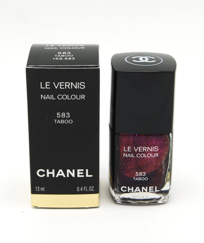 Chanel Le Vernis Nail Colour - Taboo 583 - Limited Edition - eckoYak