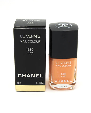 Chanel Le Vernis Nail Colour - 539 June - Limited Edition - eckoYak