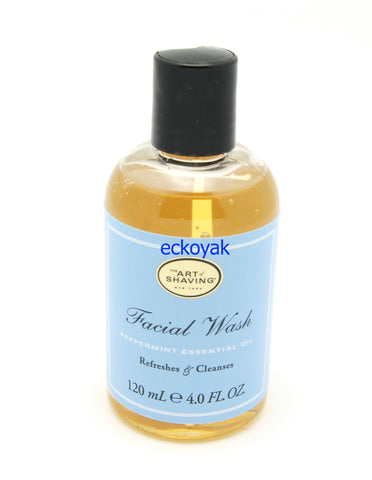 The Art of Shaving Facial Wash 4oz  - Peppermint - eckoYak