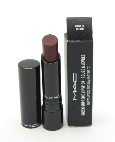MAC Sheen Supreme Lipstick - Good to be Bad (Discontinued) - eckoYak