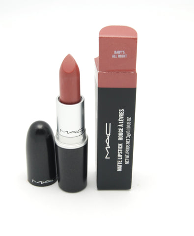 MAC Matte Lipstick Nicki Minaj - Baby's All Right (LE) - eckoYak
