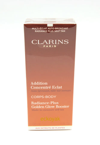 CLARINS Radiance-Plus Golden Glow Booster 1 FL OZ / 30 ML Sealed - eckoYak