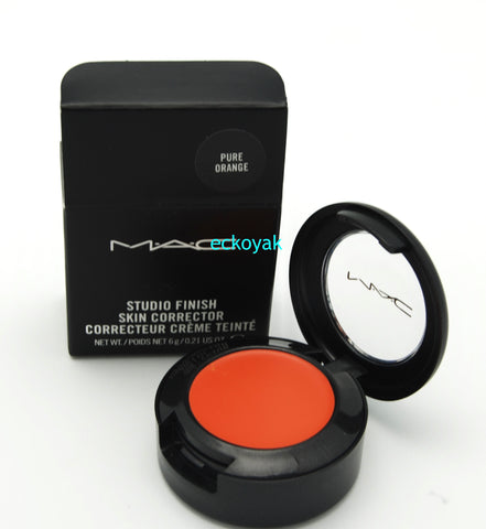 MAC Studio Finish Skin Corrector - Pure Orange (Discontinued) - eckoYak