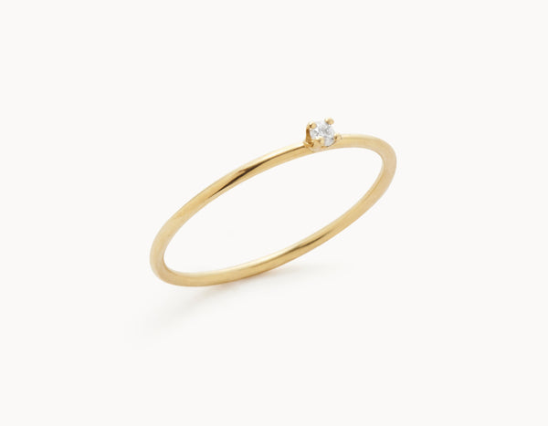 The Promise Ring - 18k Yellow Gold