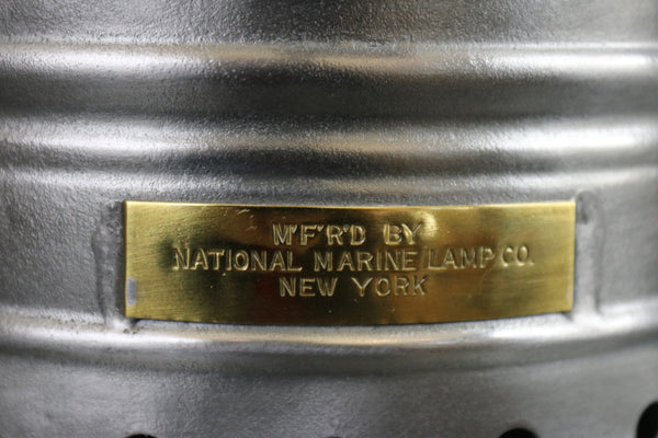 Ship's Masthead Lantern by National Marine Lamp Co.,