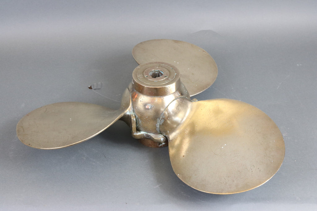Folding Brass Yacht Propeller