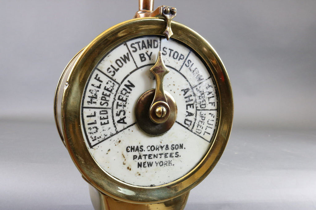 Charles Cory Engine Order Telegraph