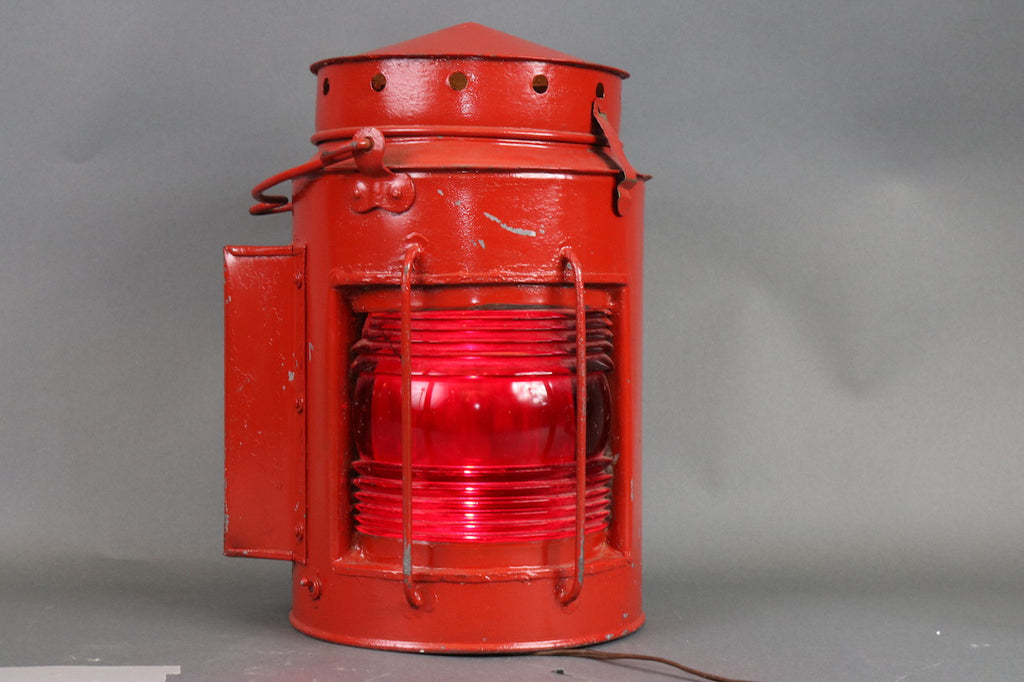 Early 20th Century Port Side Lantern