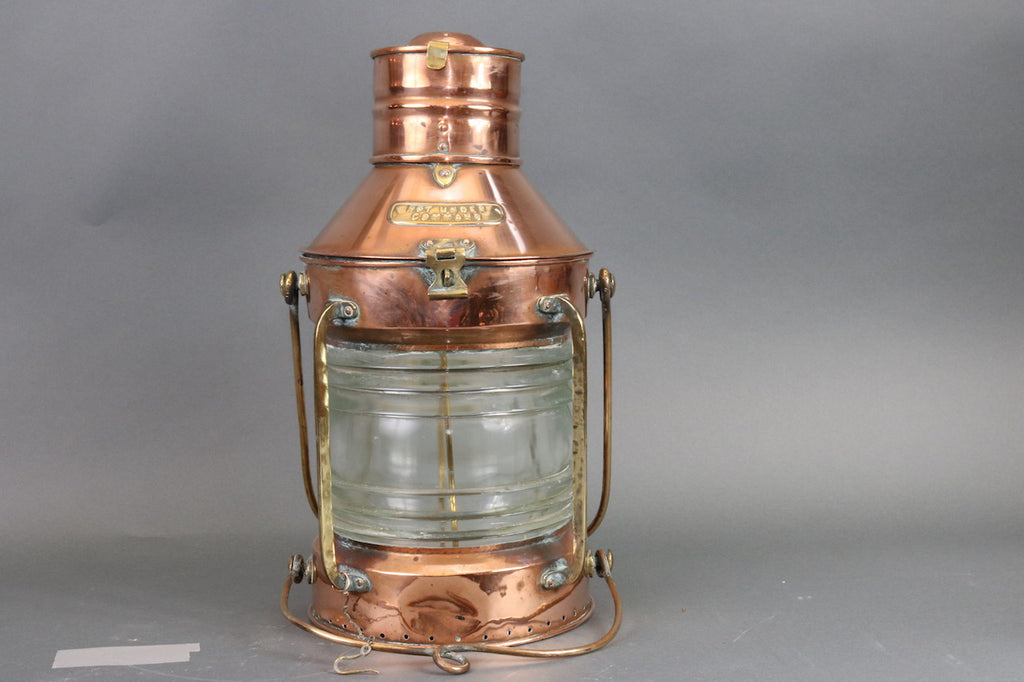 Solid Copper Not Under Command Lantern
