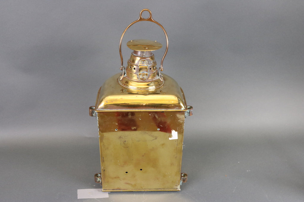 Outstanding Solid Brass Ship's Lantern