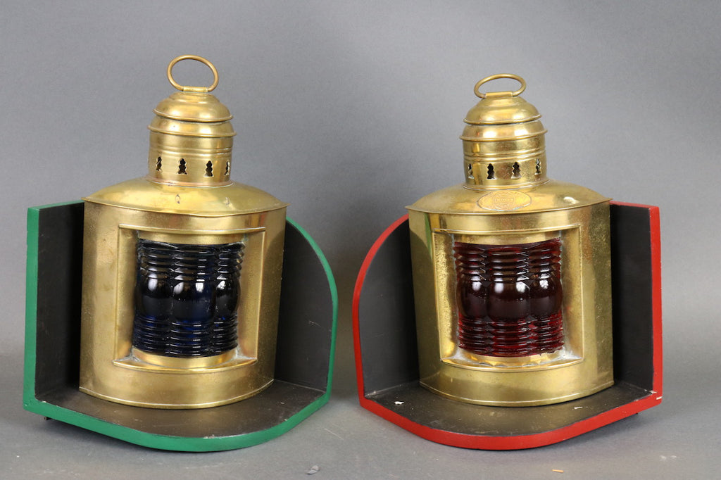 Pair of Triplex Port & Starboard Lanterns.