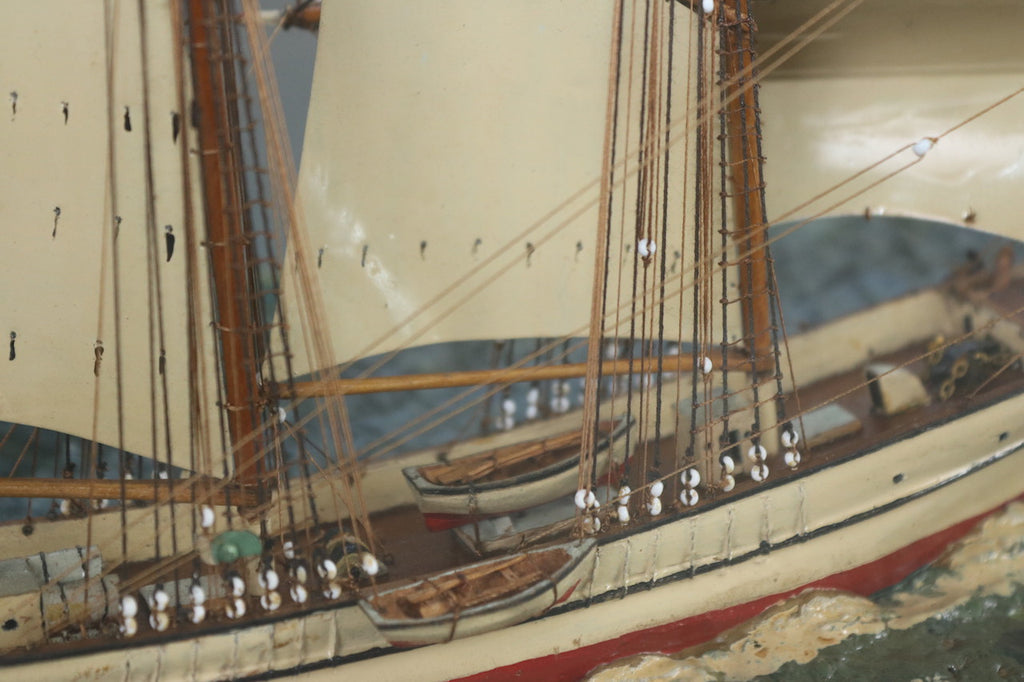 Fine Diorama of the Windjammer Sarah