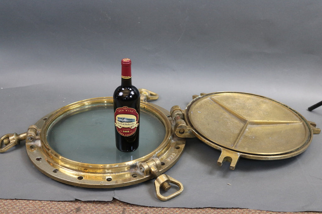 Solid Brass Ship's Porthole