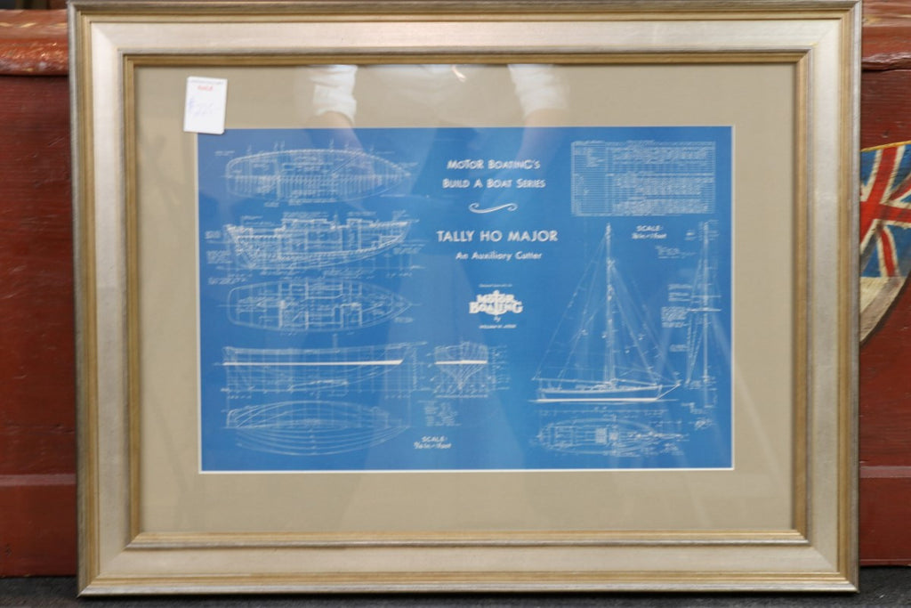 Authentic Blueprint, c. early 1900s