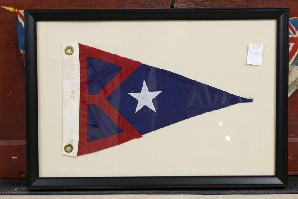 Authentic Stitched Nylon Yacht  Burgee