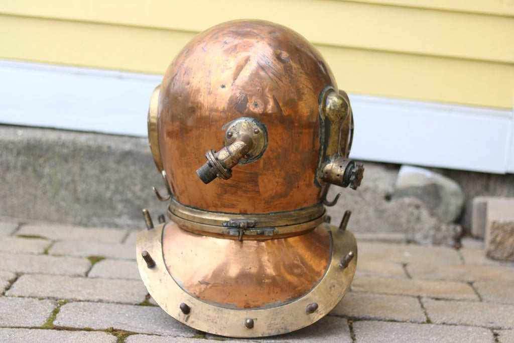 Copper Diver's Helmet by Siebe Gorman