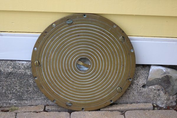 Solid Brass Deck Plate