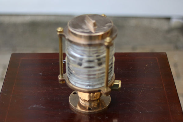 Brass Pier Light