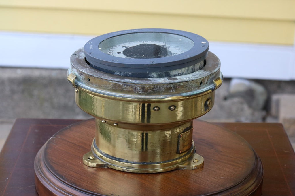 Brass Lifeboat Binnacle