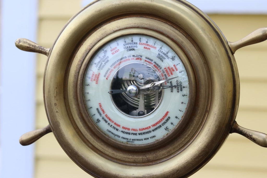 Aneroid Barometer by Watrous